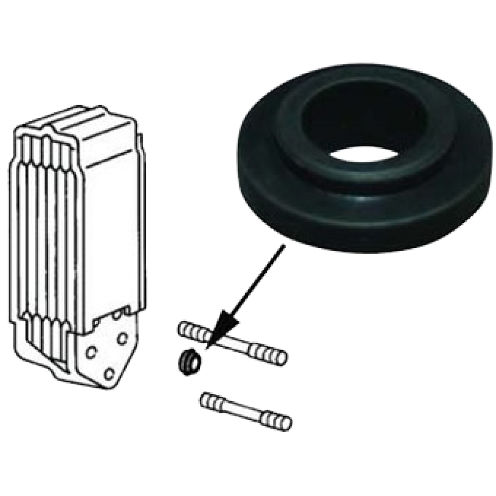 WV-021-117-151A SEAL FOR OIL COOLER